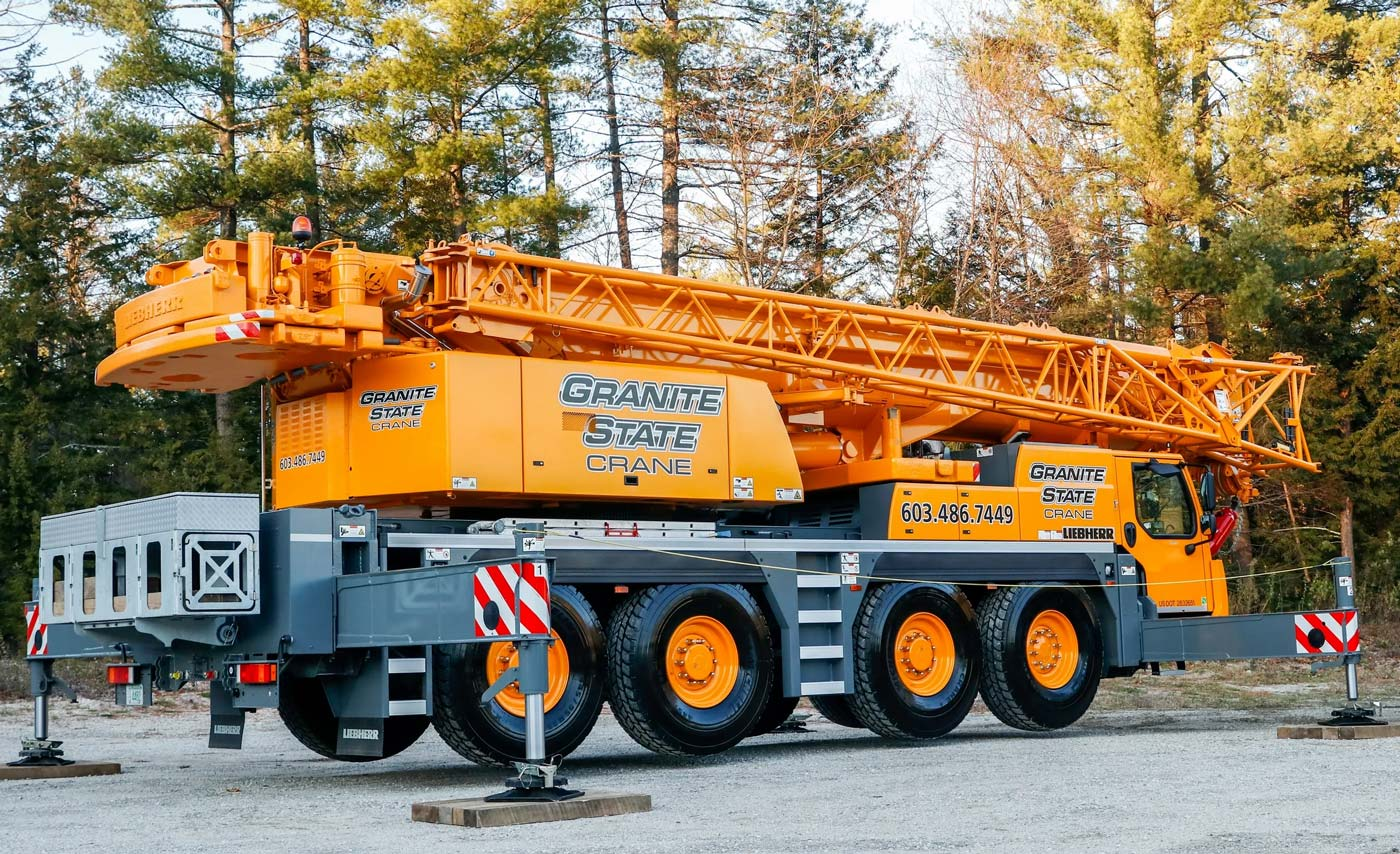 GSC Crane Services, Crane Rentals and Crane Operators, Among the Best Crane Companies in NH, MA, VT and Maine